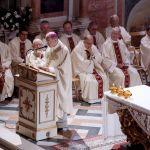 agenzia fotofilm  treviso  san nicolò saluto vescovo gardin